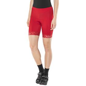 Maloja SuvrettaM. Chamois Bike Shorts Women red poppy